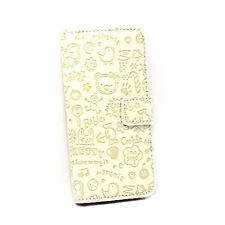iPhone 4 Lovely Magic Girl Flip Case - White