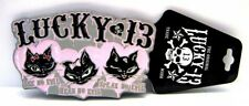 Original Lucky 13 Buckle-See, hear & speak no evil, adorno en la cintura