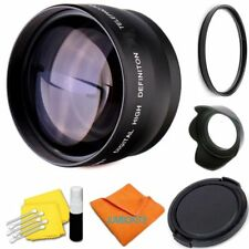 52MM HD 2X TELEPHOTO ZOOM LENS+UV/CPL/ REMOTE FOR NIKON D3100 D3200 D3300 D