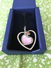 Swarovski Heart Pendant For Your Phone 957042 New