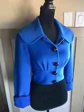 Temperley London 100% Angora Cashmere Bolero Jacket size S