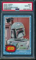 2020 Topps Star Wars Living Set #83 Boba Fett PSA 10 Gem The Empire Strikes Back