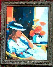 """McCANN """" CONTEMPLATIONS"""" (FROM THE FLORAL SUITE) ARTIST EMBELLISHED LIMITED EDIT"""