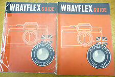 Wrayflex Fotocamera Guide focale STAMPA 1954 1st Edition 80 pagine