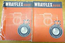 Wrayflex Fotocamera Guide focale STAMPA 1954 1st Edition 80 pagine