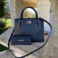 NWT Michael Kors LG Mott leather Satchel/wallet options