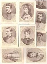 Bilder Konvolut Portrait Österreich Habsburg Erzherzöge Erzherzogin Adel (52)