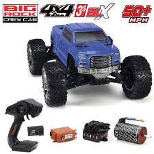 ARRMA Ar102711 Big Rock Crew CAB 3s BLX Brushless 1/10 4wd Monster RC Truck Blue