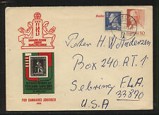 Denmark nice stamp dealer ad cover Kl0331