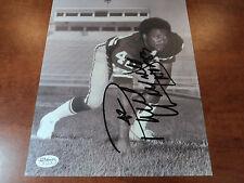 PAUL WARFIELD - Signed Autograph Cleveland Browns 8x10 Photo w/ Inscription JSA