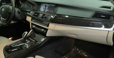 BMW OEM F10 F11 5 Series 2011+ Fine-Line Anthracite Wood Interior Trim Kit 4CE