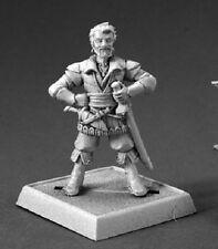 Sandru Vhiski Reaper Miniature Pathfinder RPG Rogue Bard Pirate Swashbuckler