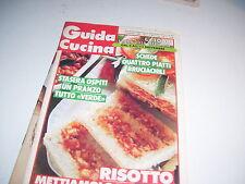 RIVISTA GUIDA CUCINA ANNO X NUMERO 477 5 NOVEMBRE 1990