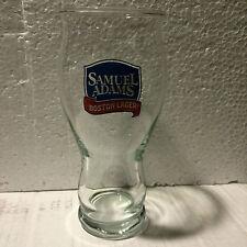 "4 SAMUEL ""SAM"" ADAMS BEER 16 oz PINT GLASSES"