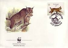 646+ FDC ENVELOPPE 1er JOUR ANIMAUX SAUVAGES PORTUGAL