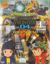 DVD DIGIMON Frontier 04 Vol 1-50 End  Cantonese only