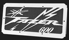 """cache / Grille de radiateur Yamaha 600 FZS Fazer 98/03 """"Eclair"""" + grillage noir"""