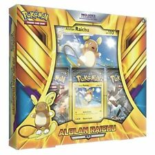 Pokemon: Alolan Raichu Collection Box: Inc 3 Booster Packs + Promo Cards