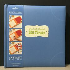 "Hallmark Baby Boy First-Year Memory Scrap Book ""Big Firsts"" 20 Pages! New!"