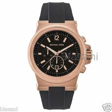 Michael Kors Original MK8184 Men's Stainless Steel Chronograph Watch Black