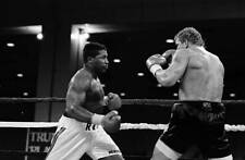 Old Boxing Photo Ray Mercer Looks To Throw A Punch Against Tommy Morrison
