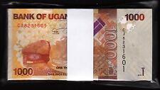 Uganda 2000 Shillings 2013 River Valley//Fish//p50b UNC