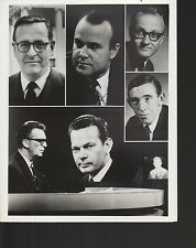 """The Huntley-Brinkley Report 7x9"""" 1960s black & white television photo #nn"""