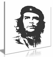 Che Guevara Silhouette Canvas Wall Art Picture Print