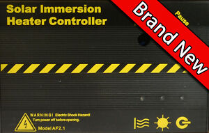 Solic 200 Solar Immersion Heater Controller Not iBoost or Immersum Free Water