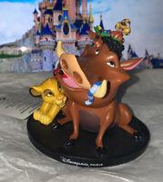 FIGURINE Roi lion SIMBA TIMON PUMBA Disneyland Paris Neuf The Lion king Disney