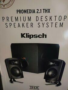 Klipsch ProMedia 2.1 THX Certified Speaker System - Black