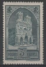 """FRANCE STAMP TIMBRE N° 259 """" CATHEDRALE REIMS 3F TYPE I """" NEUF xx TTB  N345"""