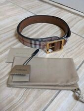 "Burberry Men's Haymarket Check Belt NEW 38""/95 cm"