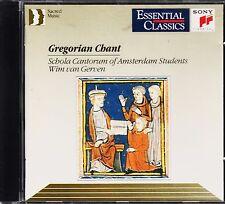 *o- Gregorian CHANT - Schola CANTORUM of AMSTERDAM Students - Wim van GERVEN