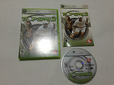 Top Spin 2 (Microsoft Xbox 360, 2006) Tested Complete