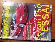 $$t Revue sport auto N°403 Ferrari F50  BMW 323i  GP France  GP Silverstone