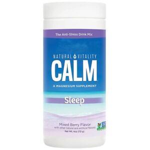 Natural Vitality Calm Sleep Specifics Mixed Berry Flavor 4oz.  Exp. 3/22