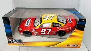 NASCAR Kurt Busch 97 Yellow 1:24 Die Cast Little Tikes Ford Taurus 2003 Sealed