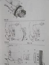Hydrovane 250 mattei service workshop manual & parts list will.
