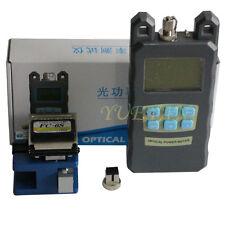 Fiber Optical Power Meter Tester And Fiber Cleaver Replace Fc 6s Cleaver Cutter
