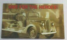 Franklin Mint Brochure 1938 Ford Fire Engine