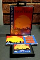 The Lion King Megadrive Complete with Manual Tested and Working see pictures