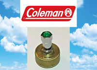 Coleman Fuel Cap Valve Stem, For Coleman, Fill With Air Pump, Custom Green Cap