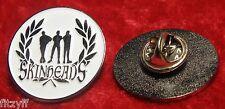 Skinheads Lapel Pin Badge Laurel Leaf Skinhead Brooch