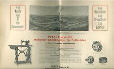 Pfaff Nähmaschinen Werbung um 1930