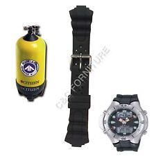 Cinturino in gomma modello CITIZEN AQUALAND PROMASTER JP1060 diving rubber