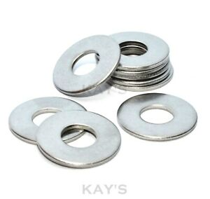 Form C Flat Wide Washers A2 Stainless Steel Metric M4 M5 M6 M8 M10 M12 M14 M16