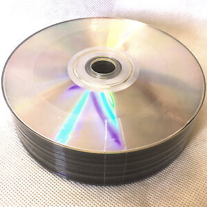 DVD-R Silver Shiny Non Printable 4.7GB Recordable Discs 25pcs