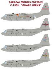 "Caracal Models 1/72 USAF Lockheed C-130H Hercules ""Guard Herks"" # 72062"
