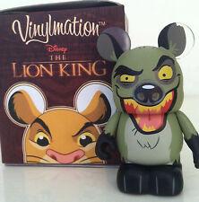 "DISNEY VINYLMATION 3"" THE LION KING SERIES BANZAI HYENA VILLAINS COLLECTIBLE TOY"